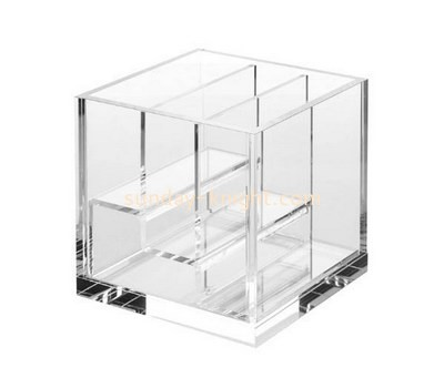 Custom tiered clear acrylic eyeshdow display holders DBK-1196