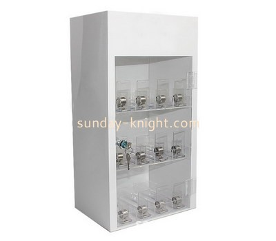 Custom retail acrylic display cabinet DBK-1205
