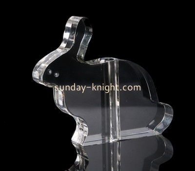 Custom laser cut transparent acrylic CAK-045