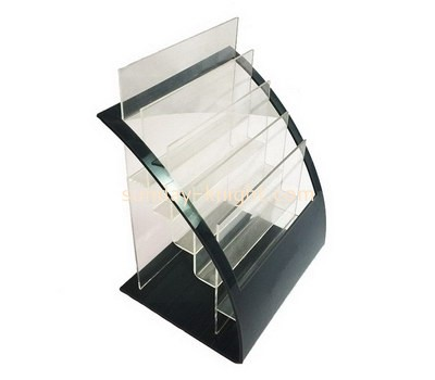 Custom 5 tiers acrylic brochure holders BHK-671