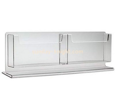 Custom table top acrylic brochure holder BHK-675