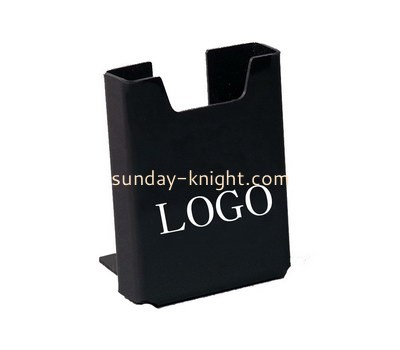 Custom black acrylic pamphlet holder BHK-689
