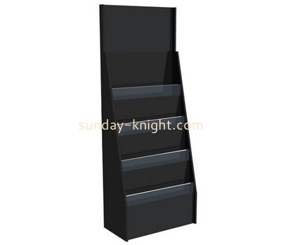 Custom 4 tiered acrylic literature holder BHK-708