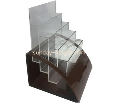 Custom 4 tiers acrylic pamphlet holders BHK-723