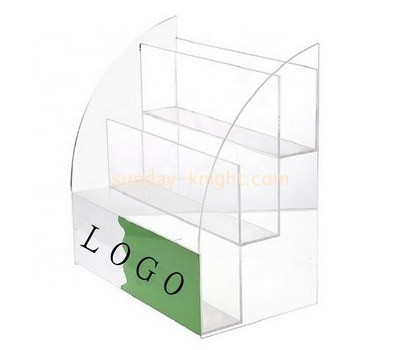 Custom 3 tiers acrylic pamphlet holder BHK-728
