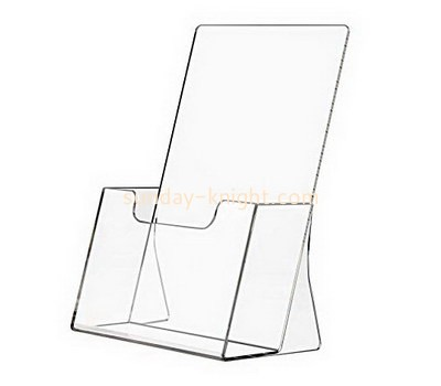 Custom table top acrylic pamphlet holder BHK-736