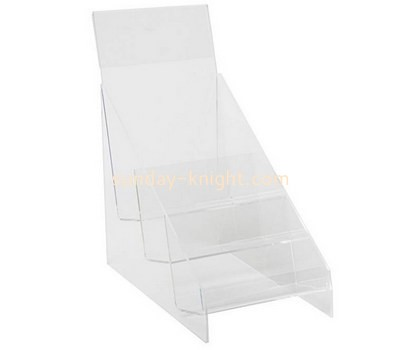 Custom 3 tiers acrylic brochure holder BHK-746