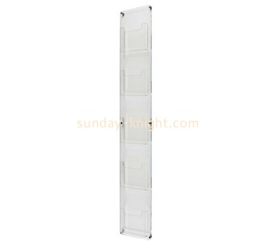 Custom acrylic wall leaflet rack BHK-755