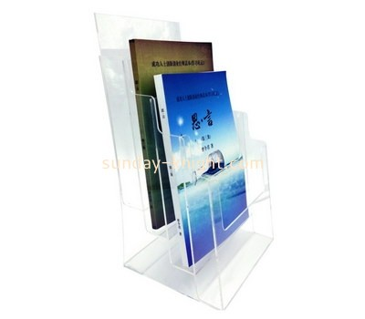 Custom 4 tiers clear acrylic magazine holders BHK-771