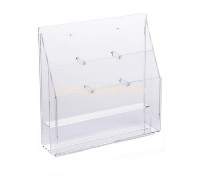 Custom wall 2 tiers acrylic leaflet holders BHK-786