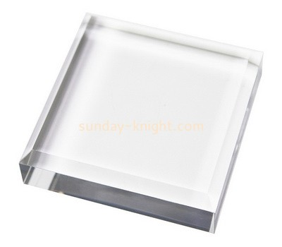 Custom acrylic stamp block ABK-006