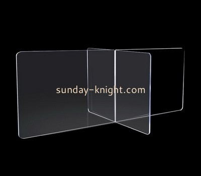 Custom table top acrylic divider partition guard ODK-837
