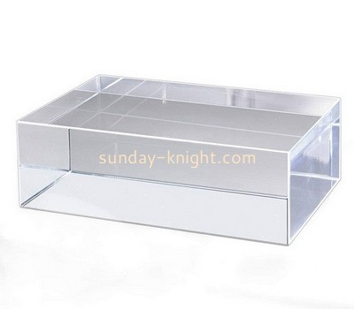 Custom clear lucite display block ABK-103