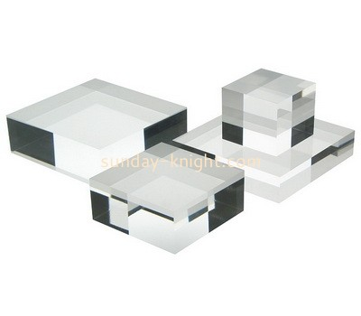 Custom plexiglass display blocks ABK-163