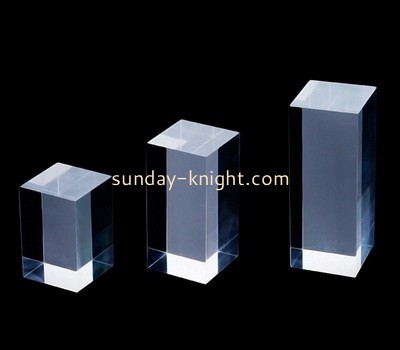 Custom laser cutting acrylic display cubes CAK-104