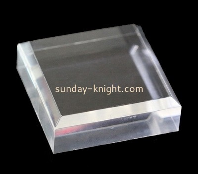 Custom acrylic beveled block CAK-267