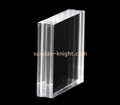 Custom laser cutting clear perspex stamp block CAK-287