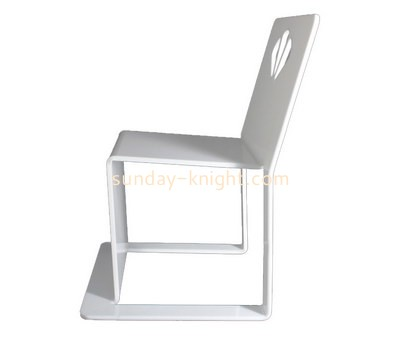 Custom unique white acrylic chair AFK-223