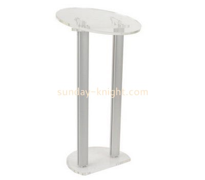 Custom acrylic presentation podium AFK-253